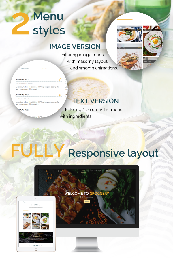 Groggery - Responsive Bar, Restaurant and Cafe WordPress Theme - 3